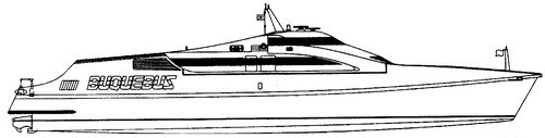 Buquebus Luciano Federico L B60 Catamaran Ferry