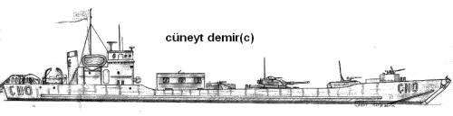 C107 CLASS Landing Ship (1970)