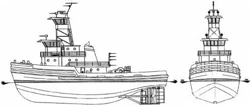 Chesapeake Ocean Tugboat