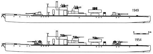 Czechoslovakia - President Masaryk (Patrol Boat)