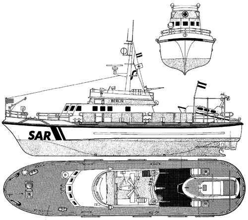 DGzRS Berlin German Maritime Search and Rescue Service