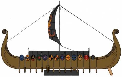 Drakkar Oseberg Viking Ship