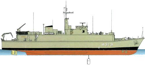 EML Admiral Cowan M313 (Minehunter)