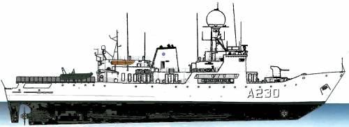 EML Admiral Pitka A230 (Patrol Vessel )