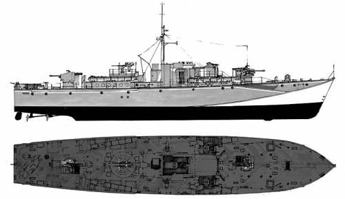 Fairmile D (Motor Torpedo Boat)
