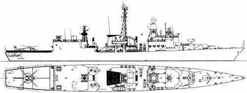FGS Bremen F122 [Frigate] (1997)