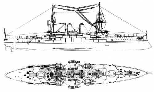 Georgios Averoff (Armoured Cruiser) - Greece (1909)