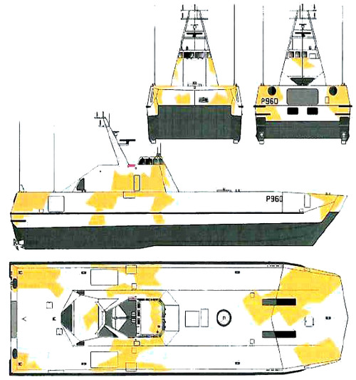 HNoMS Skjold-class (Project SMP 6081 Patrol Boat)