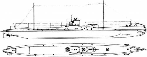 NMS Delfinul [Submarine] - Romania (1942)