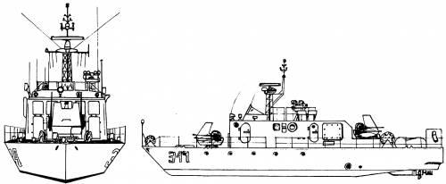 Yugoslavia - Novi Sad RML-341 [Nestin-class River Minesweeper]