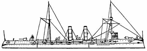 NRP Dom Carlos I (Cruiser) - Portugal (1898)