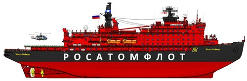 50 Let Pobedy (Nuclear Icebreaker)
