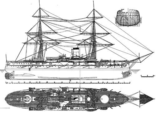 Admiral Nakhimov (Armoured Cruiser) (1886)