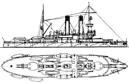 Admiral Ushakov 1905 [Coastal Defence Ship]