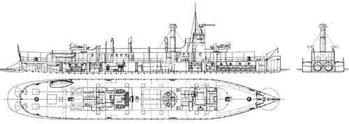 Amurets (River Gunboat)