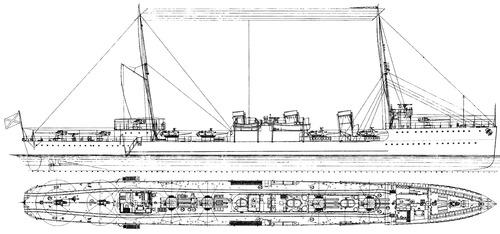 Fidonisy (Destroyer) (1917)