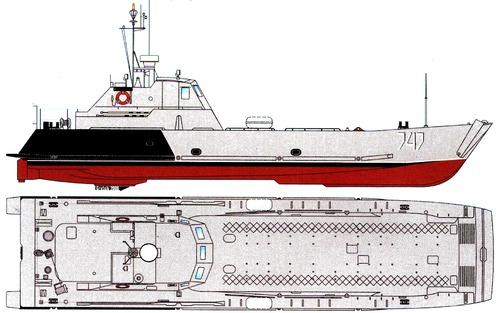 FRS Project 1177.0 Serna-class Landing Craft 2006