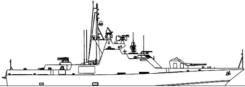 FRS Project 1230.0 Scorpion [Missile Boat]