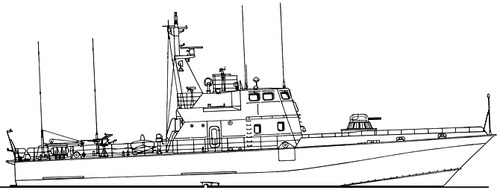 FRS Project 1431.0 Mirazh Mirage class Border Patrol Boat