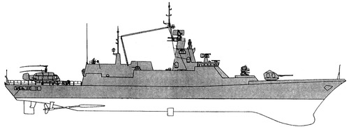 FRS Project 2038.0 Steregushchy Corvette