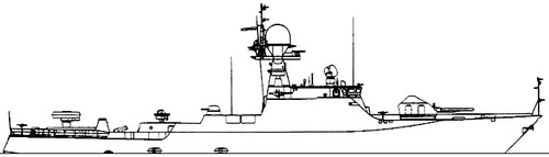 FRS Project 2163.0 Astrakhan Buyan-class Corvette
