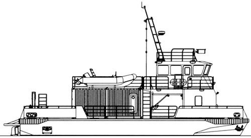 FRS Project 2337.0 Rescue Boat.