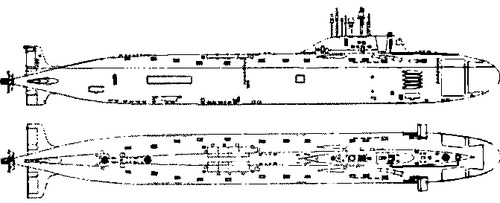 FRS Project 885 Yasen Severodvinsk -class SSN