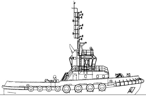 FRS Project 9060.0 Harbour Tugboat