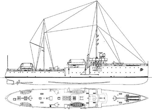 Kars 1911 (Ardagan Class Gunboat]