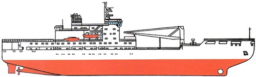RFS Akademik Treshnikov Project 22280 Icebreaker