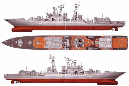 USSR Severomorsk (Destroyer)