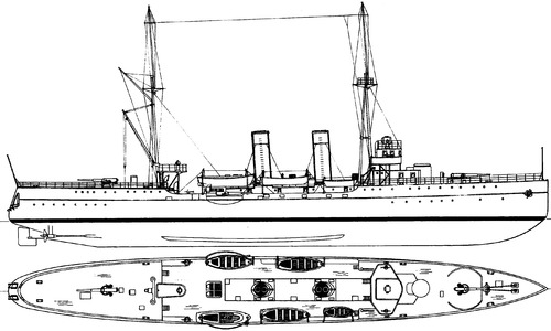 HSwMS Fleming (Mine Cruiser) (1918)