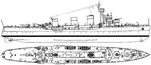 HSwMS Fleming (Mine Cruiser) (1940)