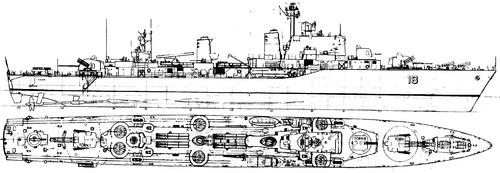 HSwMS Halland (Destroyer) (1957)