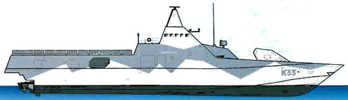 HSwMS Harnosand K33 (Corvette)