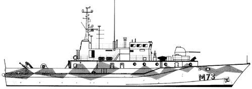 HSwMS Koster M73 (MCMV)