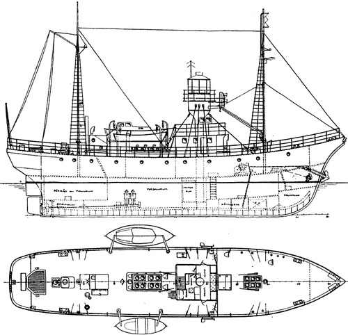 HSwMS Nr 29 Olandsrev Tugboat