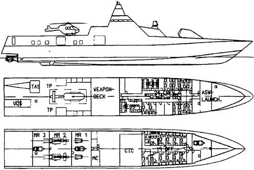 HSwMS Visby K31 (YS- class Corvette) (2000)