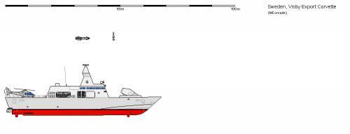 Sw FS Visby Export Stealth Corvette (2006)