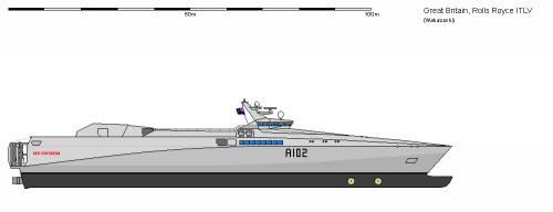 GB AK Rolls-Royce P2500 Intra-Theater Logistics Vessel