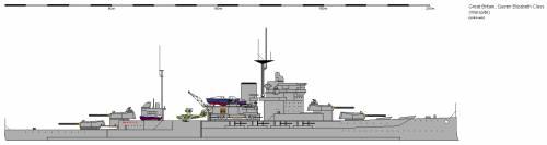 GB BB Queen Elizabeth Warspite