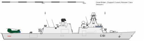 GB CC Type 45 Support Cruiser AU