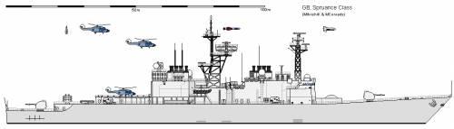 GB DD-963 SPRUANCE AU