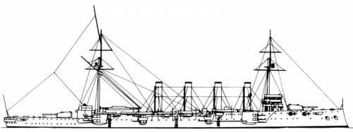 HMS Drake (Armoured Cruiser) (1905)