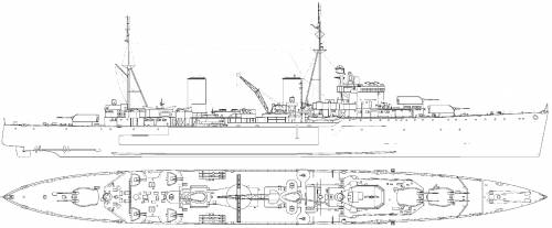HMS Galatea [Light Cruiser] (1941)