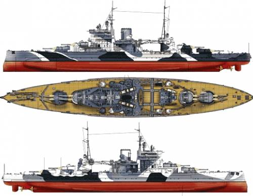 HMS Queen Elizabeth (Battleship) (1943)