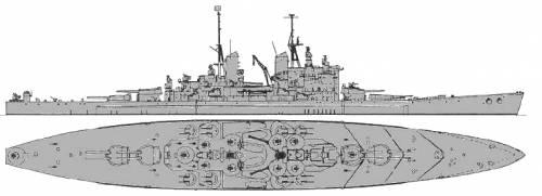 HMS Vanguard (Battleship) (1946)