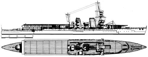 HMS Vindictive (Aircraft Carrier)) (1918)