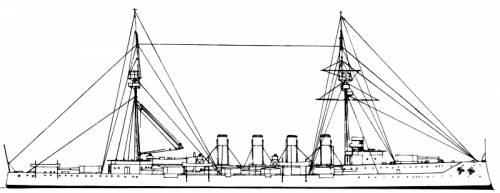 HMS Warrior (Armoured Cruiser) (1908)