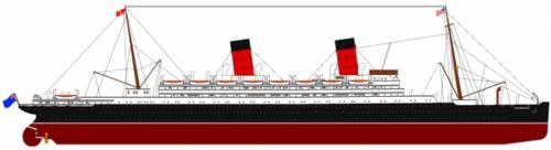 RMS Carmania [Ocean Liner] (1905)